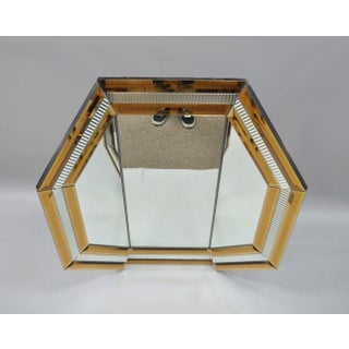 Modern Octagonal Tri Fold Vanity Mirror Preview