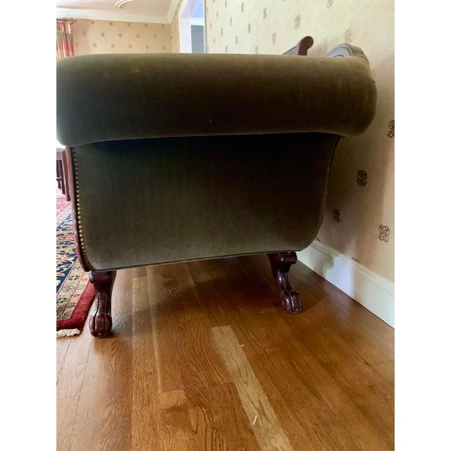 21st Century Vintage Tufted-Back Sofa For Sale - Image 10 of 11