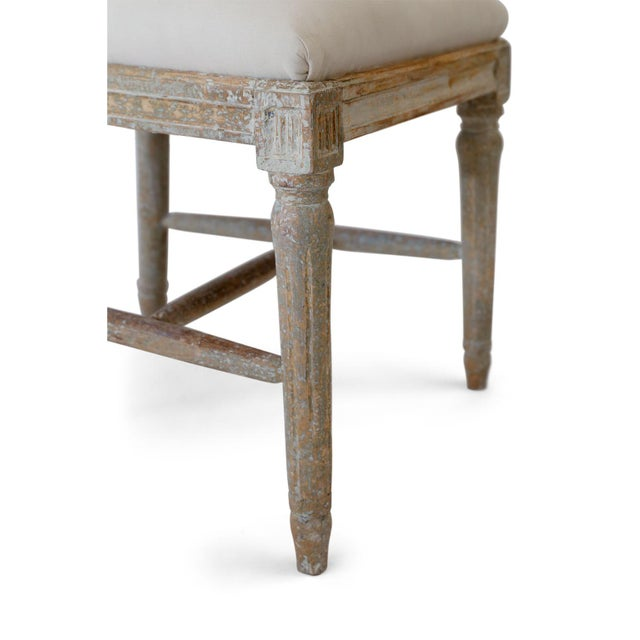 Six Swedish Dining Chairs For Sale - Image 9 of 11