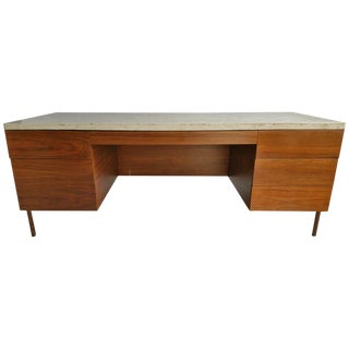 1950s Vintage Harvey Probber Executive Desk For Sale