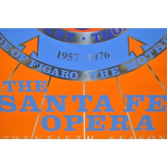 1976 Robert Indiana Signed Santa Fe Opera Lithograph - Image 7 of 7