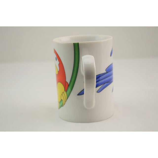 Fitz & Floyd Parrot in Ring Coffee Mug - Set of 4 - Image 7 of 7