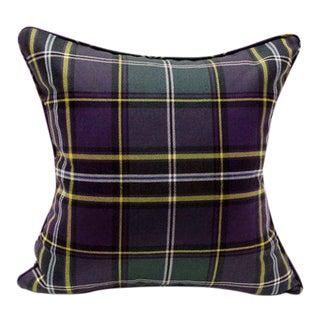 "Leland Tartan Pillow - 18"" x 18"" For Sale"