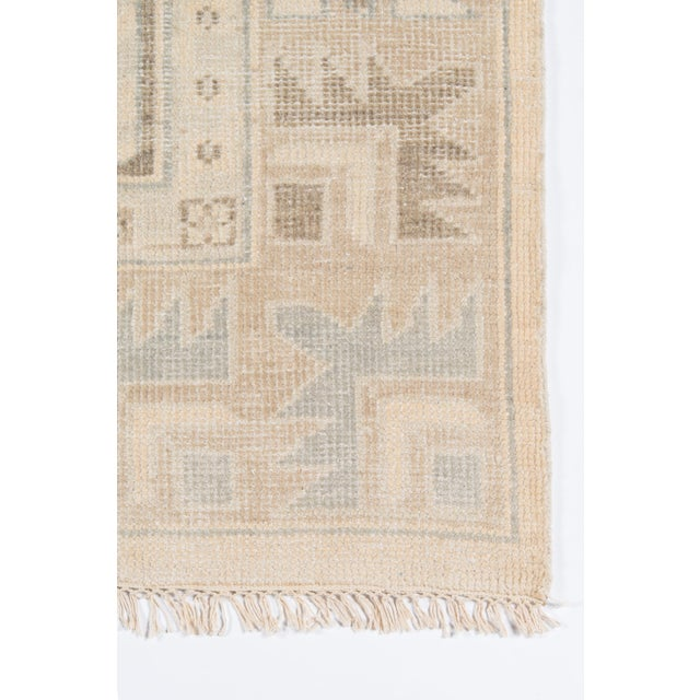 "Traditional Erin Gates Concord Walden Beige Hand Knotted Wool Area Rug 5'6"" X 8'6"" For Sale - Image 3 of 6"