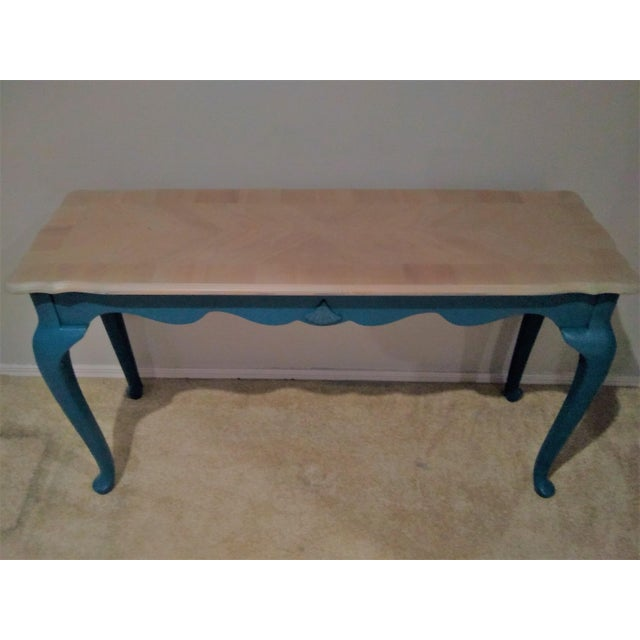 Victorian Style Console or Sofa Table For Sale In New York - Image 6 of 6