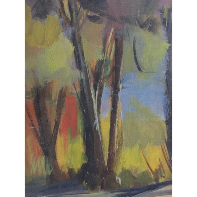 Will Frates Vintage California Landscape Painting - Image 4 of 4