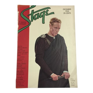 1935 Leslie Howard Stage Magazine