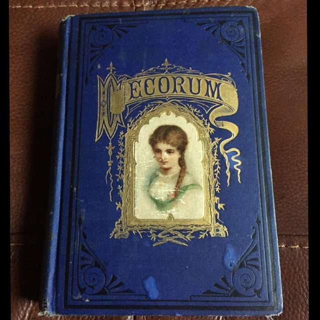 Decorum Treatise On Etiquette and Dress published by J.A. Ruth & Co. 1878. This book outlines the etiquette of social...