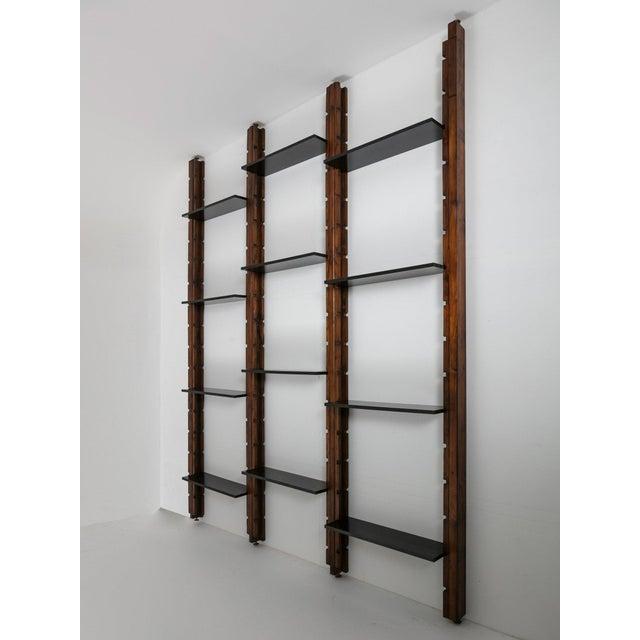 Italian 60s Modular Bookcase For Sale - Image 4 of 9