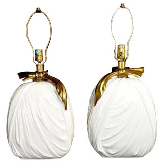 Pair of Decorative Lamps by Chapman For Sale