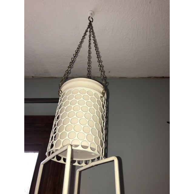 Mid 20th Century Hanging Plant Basket For Sale - Image 4 of 8