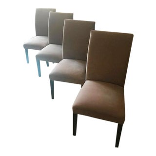 Restoration Hardware Upholstered Chairs - Set of 4