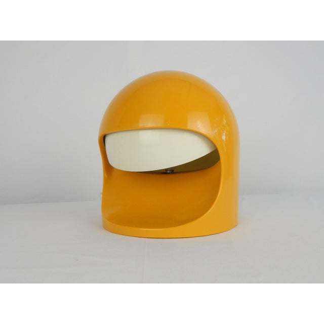 """Asian Space Age Lightolier """"Interplay 2"""" Yellow Lamp For Sale - Image 3 of 13"""
