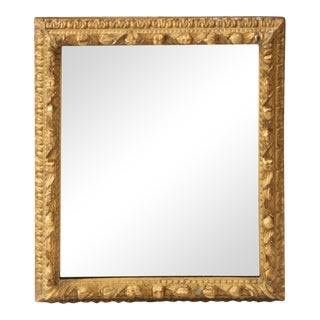 Mid 19th Century Italian Giltwood Mirror For Sale