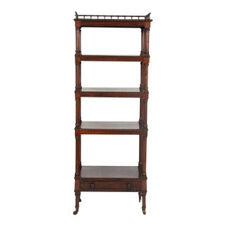 William IV Rosewood Whatnot/ Etagere For Sale