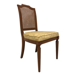 Louis XVI Style Adriano Cherry Dining Side Chair by Davis Cabinet Co For Sale