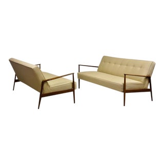 Ib Kofod Larsen for Selig Sofas - a Pair For Sale