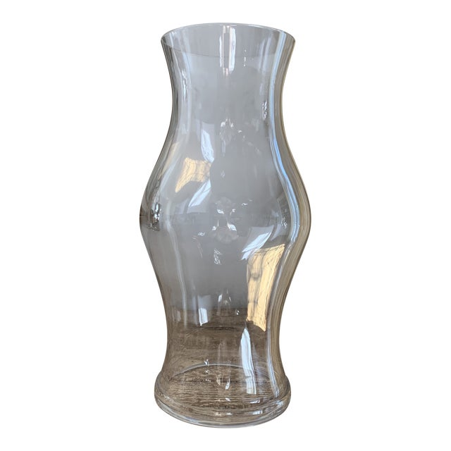 Classic Glass Hurricane Chairish
