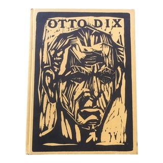 Otto DIX German Expressionist Book For Sale