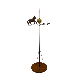 Horse Weather Vane, United States 19th Century For Sale