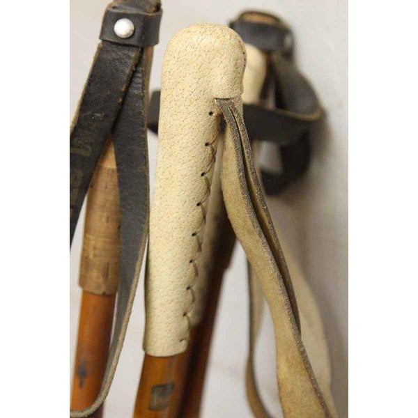 Set of Vintage Ski Poles - a Pair - Image 6 of 7