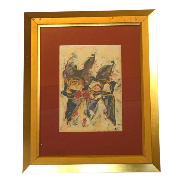 Wayne Cunningham Abstract Expressionist Painting For Sale