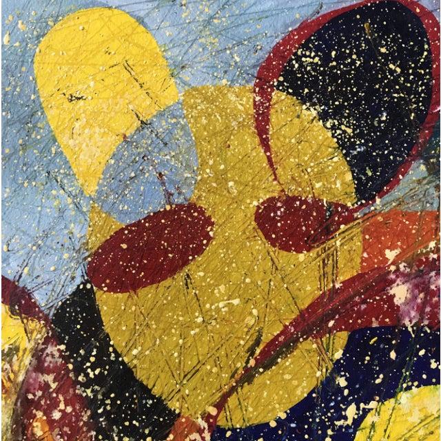 2000 - 2009 Jennifer Mack Abstract Splatter Painting For Sale - Image 5 of 6