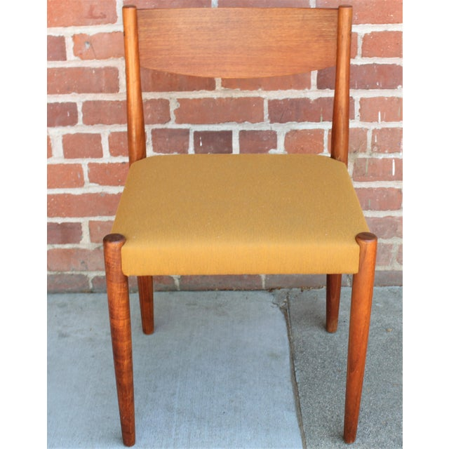 1960s Vintage Danish Modern Teak Dining Chairs- Set of 4 For Sale In Sacramento - Image 6 of 13