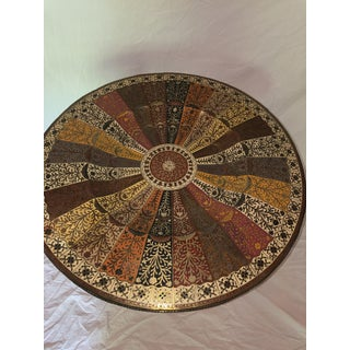 1960s Middle Eastern Brass Side Table Preview