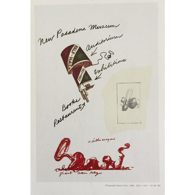 """Claes Oldenburg """"Notes"""" Complete Collection - Set of 12 - Image 6 of 10"""