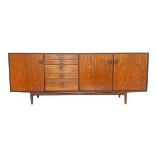 Vintage Ib Kofod Larsen Danish Teak & Rosewood Credenza