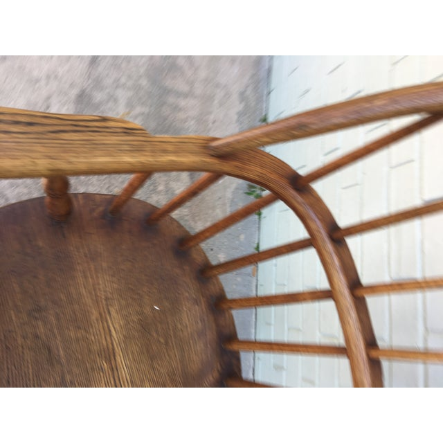 Windsor Bow Back Chairs - A Pair - Image 6 of 7