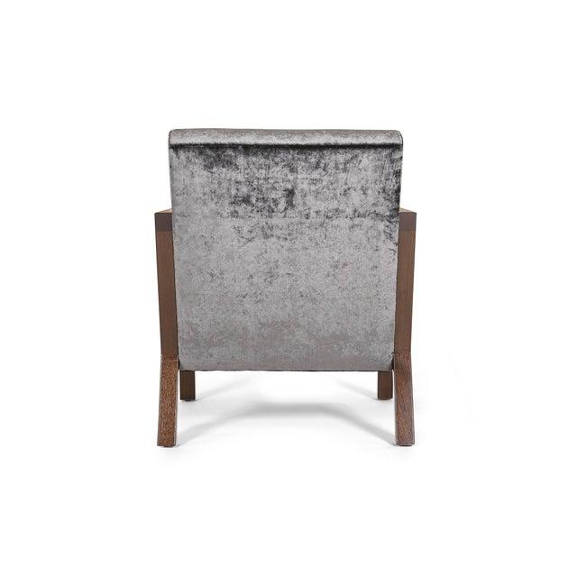 Naula Modern Walnut Moda Chair For Sale - Image 4 of 8