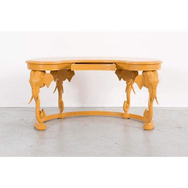Mid-Century Modern Gampel-Stoll Elephant Desk For Sale - Image 3 of 8