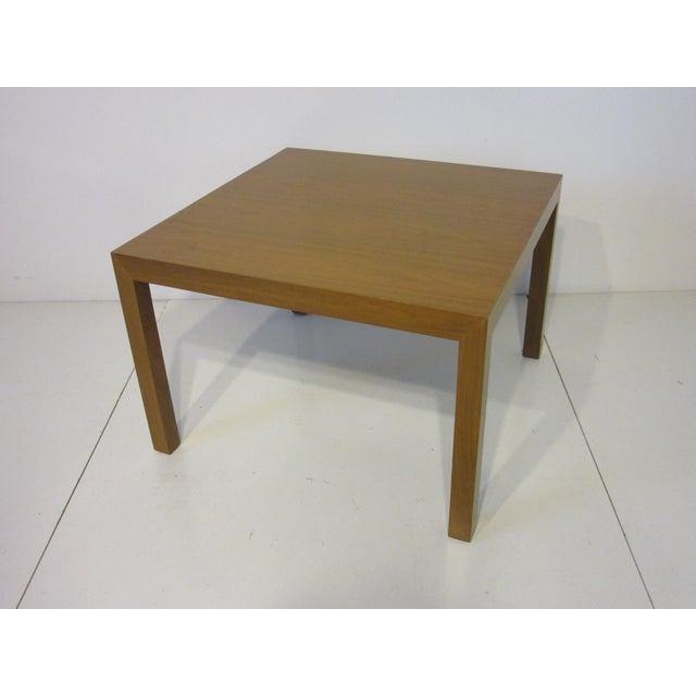 Edward Wormley for Dunbar Walnut Lamp / Side Table For Sale - Image 9 of 9