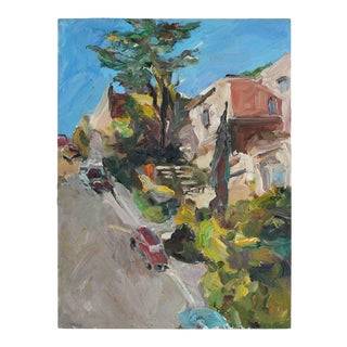 """Noe Valley Hill"" San Francisco Cityscape For Sale"