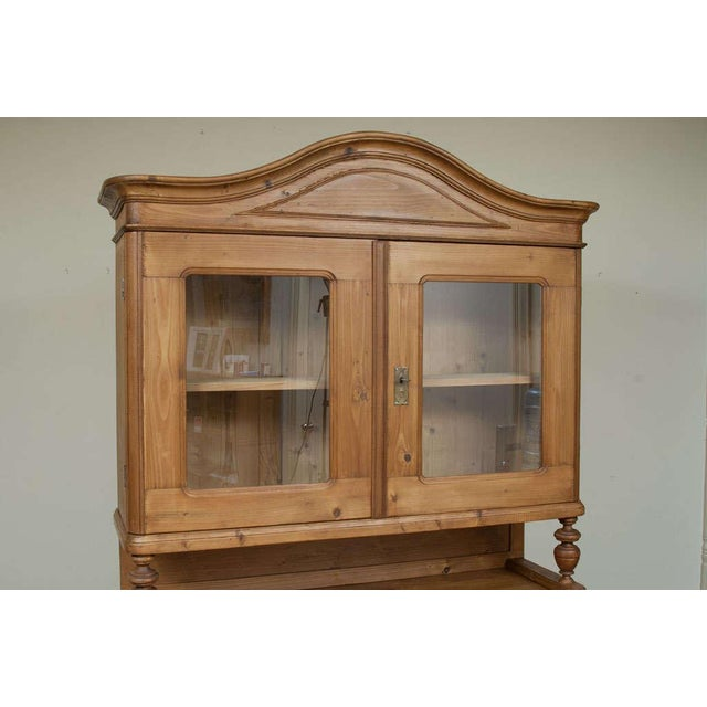 Mid 19th Century Baroque Style Pine Buffet For Sale - Image 5 of 7