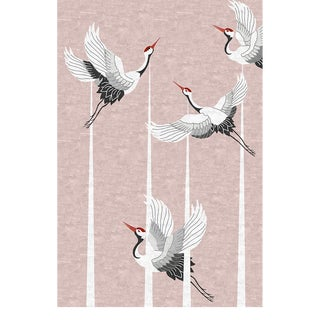Covet Paris Heron Neutral Rug - 6′7″ × 9′10″ For Sale