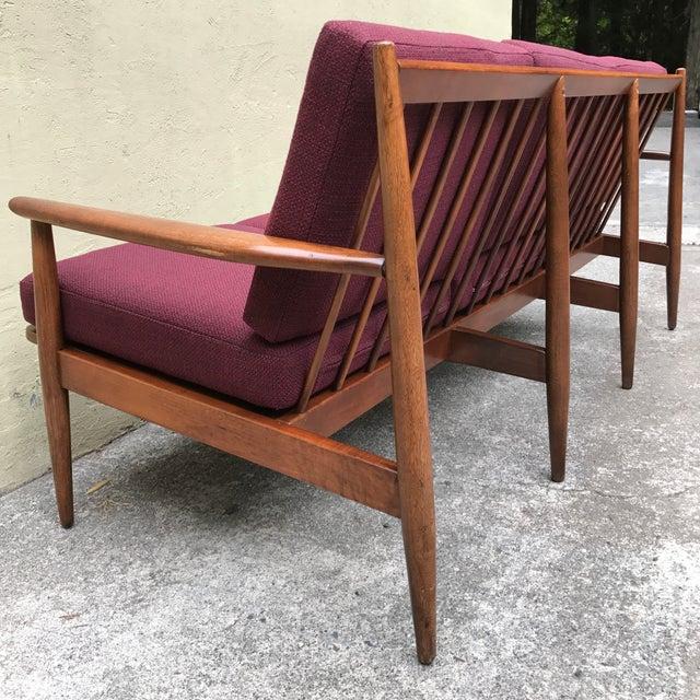 Danish Modern Style 3-Seater Sofa - Image 9 of 11