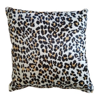 Cheetah Printed Hide Pillow