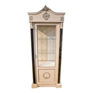 Shabby Cottage Chic Empire Style Curio