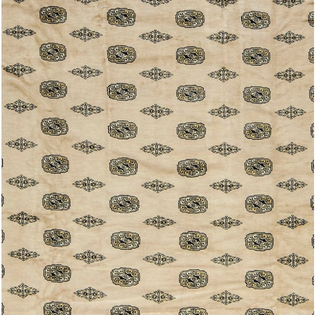 Traditional Bokhara Hand-Woven Rug - 12' X 15' - Image 3 of 3