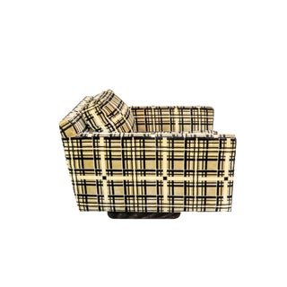 Last Call Armstrong Furniture Co. Modern Cube Chair