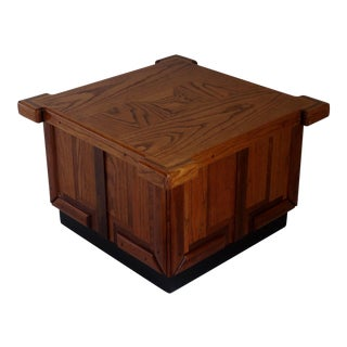 Mid-Century Modern Patchwork Coffee Table For Sale