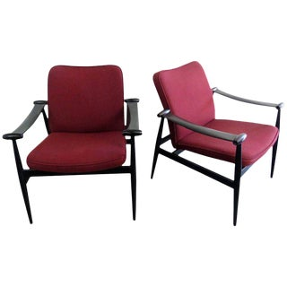 Pair of Finn Juhl Armchairs