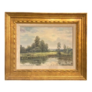 Post Impressionism Landscape Painting For Sale