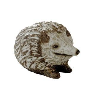 Andersen Design Natural Brown Hedgehog Figurine For Sale