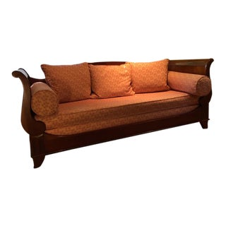 Vintage Louis Philippe Convertible Couch by Grange Furniture For Sale