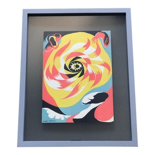 "1930s Vintage ""The Sun"" Lithograph by André Masson For Sale"
