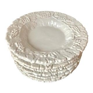 "Deruta Italian Faience ""Grappa"" Large Soup/Pasta Bowls-Set 8 For Sale"